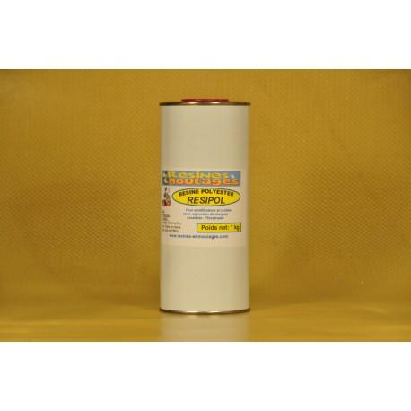 RESINE POLYESTER ACCELEREE - 1 kg