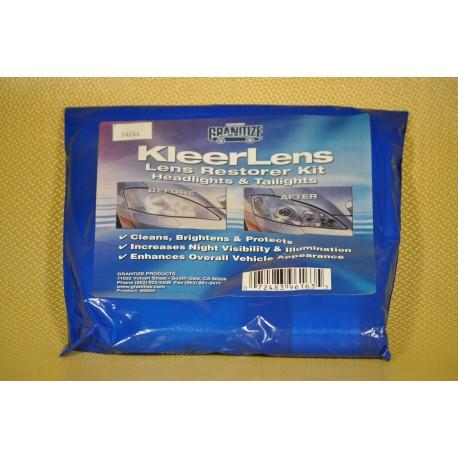 KIT RENOVATION PLASTIQUE PROTECTION OPTIQUES DE PHARES