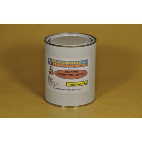 GEL COAT POLYESTER COMPATIBLE EPOXY TRANSLUCIDE 1 KG