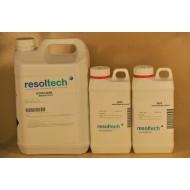 KIT RESINE EPOXY REALPOX740S TRANSPARENTE DE STRATIFICATION