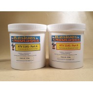 KIT PATE A MODELER RTV SILICONE 50 SHORE A CONTACT PEAU - 1 KG