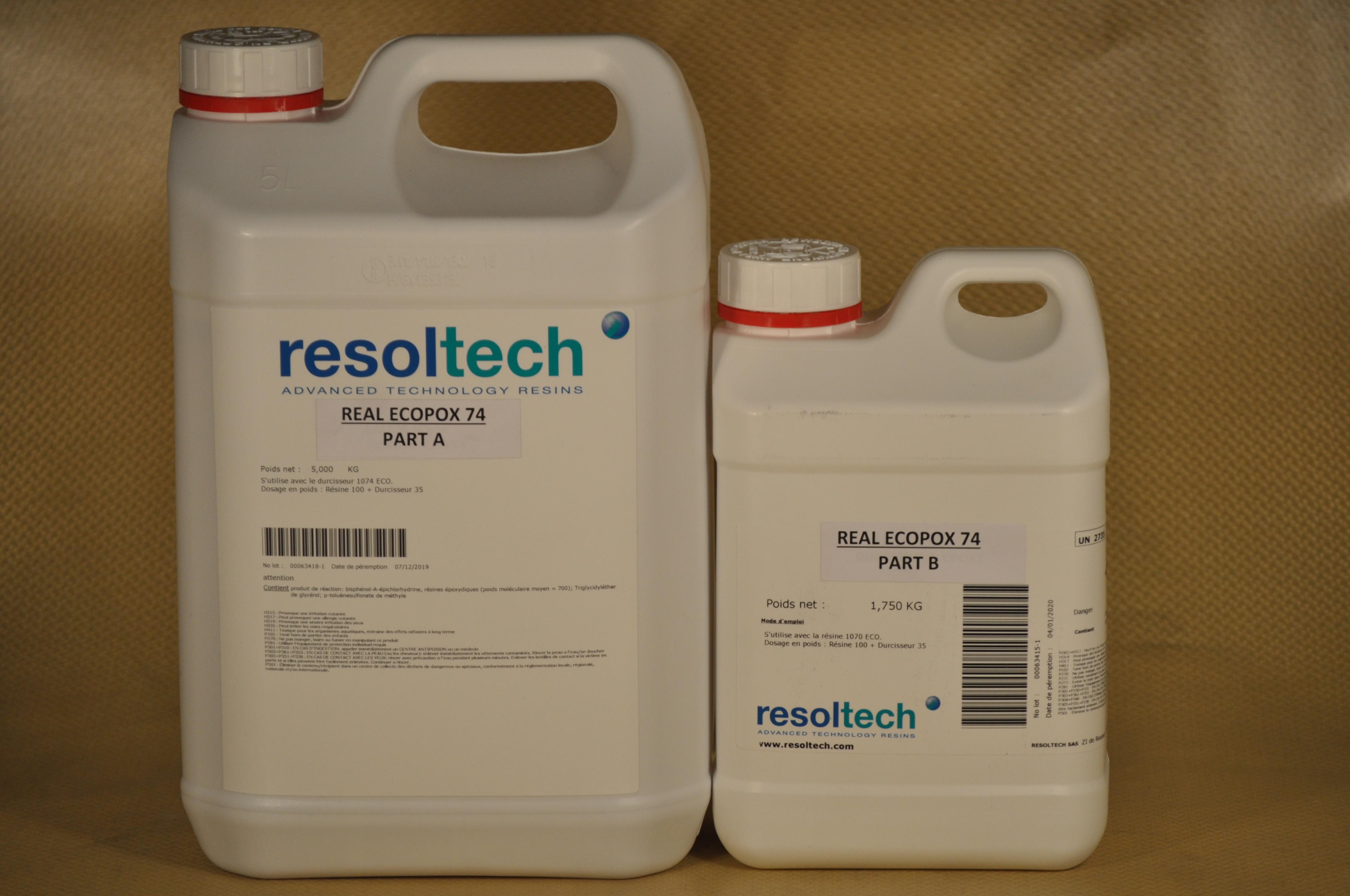 résine époxy bio-sourcée